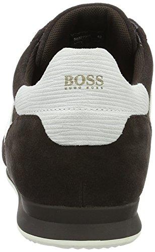 Boss Orange Orland_runn_sd 10195428 01, Zapatillas para Hombre Marrón (Dark Brown 201)