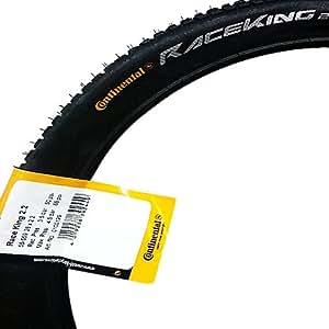 Continental MTB Race King - Cubierta para bicicletas, color negro