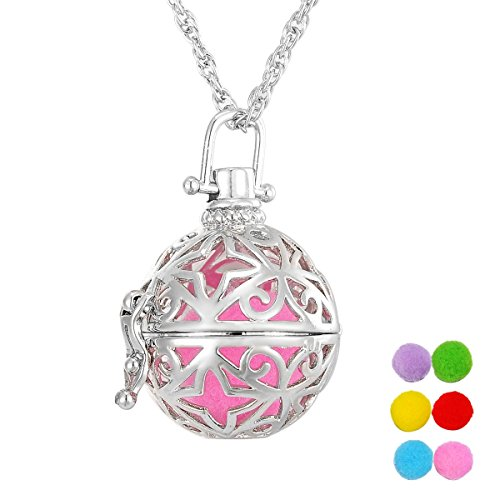VALYRIA Aromatherapy Essential Oil Diffuser Necklace Star Ma