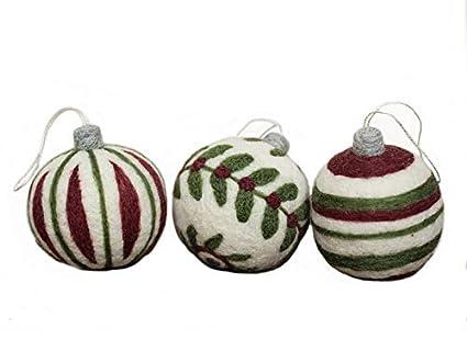 Amazon Com Christmas Ornaments Needle Felting Kit Diy Needle