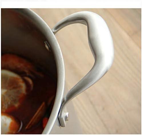 Batterie de cuisine en acier inoxydable 304 Casserole à induction Cuiseur à vapeur Vapeur Couvercle en verre visible Grande capacité Pot à soupe