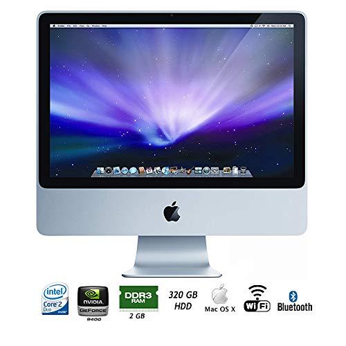 Apple MB417LL/A iMac 20in Intel Core 2 Duo 2GB RAM, 320GB Desktop (Renewed)