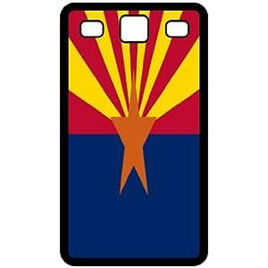 Arizona AZ State Flag Black Samsung Galaxy S3 i9300 Cell Phone Case - Cover