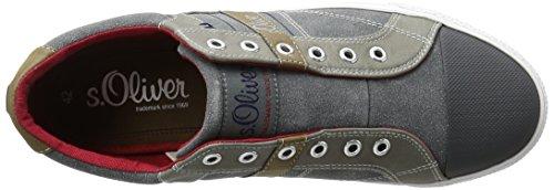 s.Oliver 14606, Zapatillas para Hombre Gris (GREY 200)