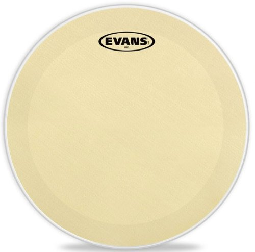 13 Inch Marching Snare Drum - Evans MX5 Marching Snare Side Drum Head, 13 Inch