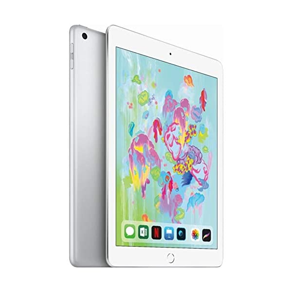 Apple iPad 128GB, Wifi 6th Generation \(Silver)