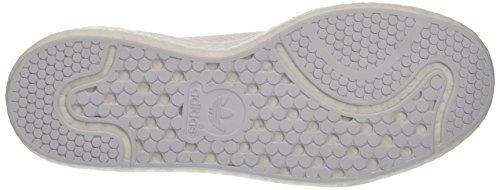 adidas Herren Stan Smith Boost Primeknit Sneaker Weiß (Footwear White/footwear White/collegiate Navy)