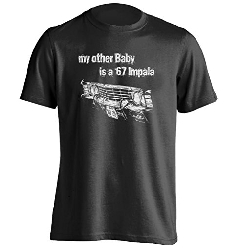 Price comparison product image My Other Baby Is A 67 Impala Car Grill Supernatural Sam Dean Winchester T Shirt