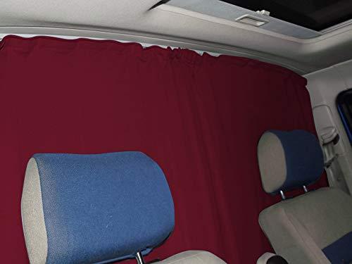 Afscheiding bestuurderscabine zonwering cabine gordijnen gordijn compact met Mercedes Vito Viano W639 van FB:A_RT