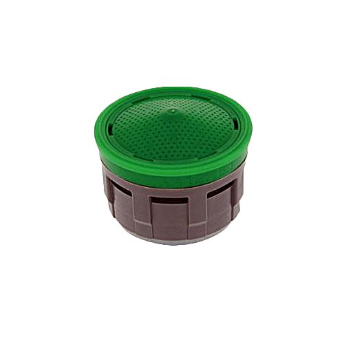 Neoperl 10 6350 4 Perlator HC Economy Flow Regular Aerator Insert, No Washer, Regular, 1.5 GPM, Aerated Stream, Honeycomb Screen, Green Dome, Acetal (Pack of 50) by Neoperl