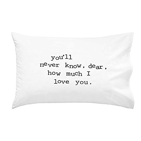 Oh, Susannah You'll Never Know, Dear, How Much I Love You Toddler Size Pillowcase (1 Pillow Cover 14 x 20.5 - Bean Bag Plush Minnie Mouse