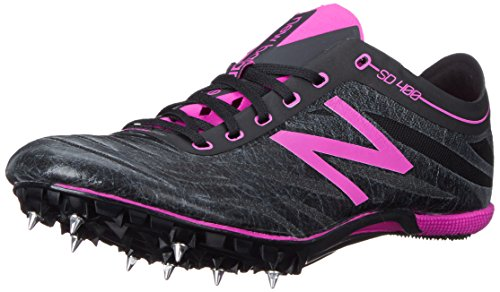 New Balance Women's SD400V3 Track Spike-W, Black/Purple, 8.5 B US