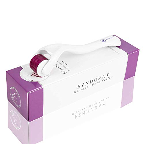 Premium Derma Roller 540 Micro Needle Titanium Skin Care System Ideal to Keep Your Skin Young and Radiant -Best Micro Roller Kit for Silky Smooth,Hair Growth.Our Product is Better Derma Roller 0.5mm