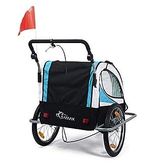 Remolque de bici para niños con kit de footing 4
