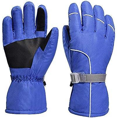 Yun Ski Gloves Women s Gloves amp Wrist Band Ski Gloves Winter Waterproof Snowboard Snow Warm Touchscreen Estimated Price £28.88 -