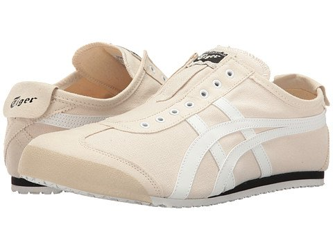 (オニツカタイガー) Onitsuka Tiger ユニセックスランニングシューズスニーカー靴 Mexico 66R Slip-On [並行輸入品] B0755NTWJN Men's 12 (30cm) M Birch/White