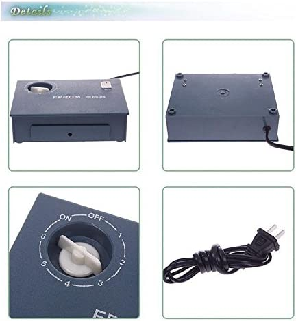 100-240V Ultraviolet Light UV EPROM Eraser Chip Data Erase Erasable Timer USA
