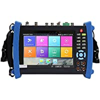 Rsrteng IPC-8600MOVTADHS Plus Full Features CCTV Camera Tester 7-inch 1920x1200 IPS Touch Screen Monitor Test TVI CVI AHD SDI CVBS IP Camera Support DMM OPM VFL TDR Features POE WiFi 4K H.265 HDMI