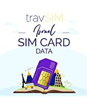 travSIM Israëlische SIM Kaart (Three UK SIM) Geldig voor 30 Dagen - 6GB Mobiele Data - Israël UK Three Israëlische SIM Kaart - Gratis Roaming in 71+ Bestemmingen (20GB for 30 Days)