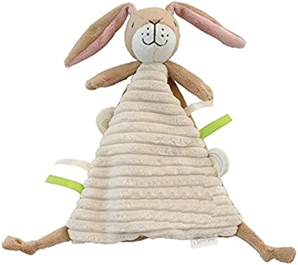 Rainbow designs nutbrown hare rattle baby toy Guess how much i love you
