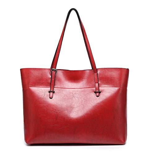 Bandoulière Main Sacs De Grande Messenger à Femmes Sac Capacité Red Sacs Provisions à Sacs à Dames 1xT0qnw6