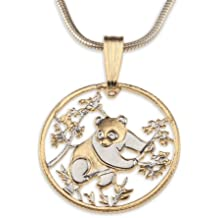 Panda Bear Pendant & Necklace Created by the Difference World Coin Jewelry