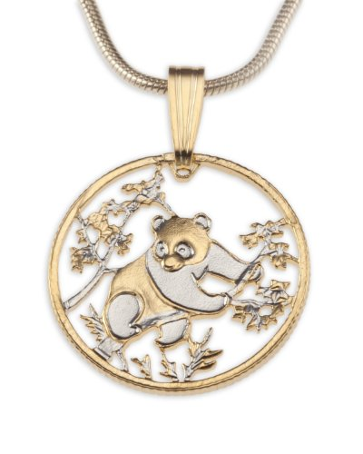 - Panda Bear Pendant & Necklace Created by the Difference World Coin Jewelry