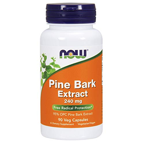 - NOW® Pine Bark Extract, 240 mg, 90 Veg Caps
