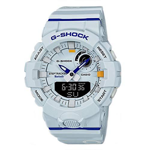 G-SHOCK Analog-Digital Step Tracker White Dial Men's Watch - White Dial Digital