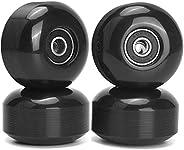 TOBWOLF 4 Pack 52mm x32mm 95A Skateboard Wheels ABEC-9 Bearings, Longboard Wheels Drift Wheels Replacements fo