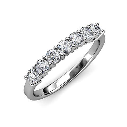 lab made diamond wedding band - 2