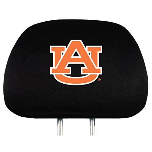 NCAA Auburn Tigers Head Rest Covers, 2-Pack (Car Auburn Accessories)