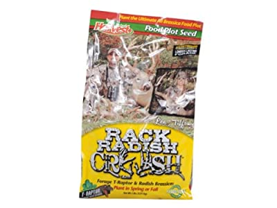Harvest Hunting Supplies 73033 Rack Radish Crush Food Plot Seed, 1/4-Acre