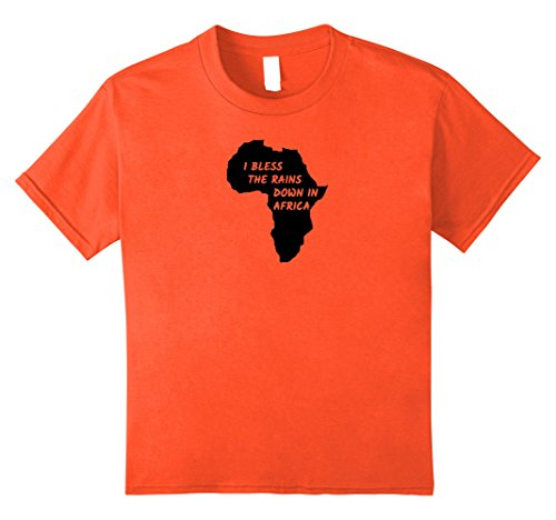 Price comparison product image Kids Toto - Africa - Bless the Rains - T-shirt 8 Orange