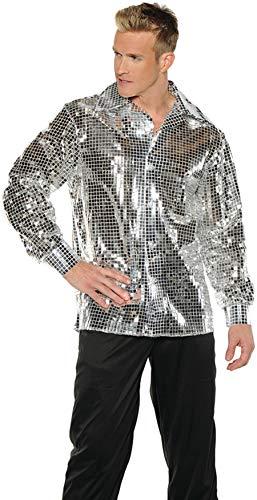 Underwraps Disco Ball Shirt Adult Costume-X-Large