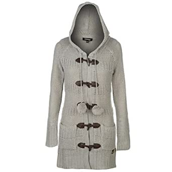 f382f14702e1 Golddigga Long Toggle Cardigan Ladies: Amazon.co.uk: Clothing