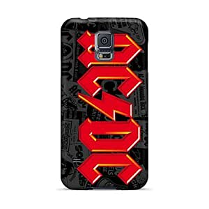 Samsung Galaxy S5 IyK1400LsIO Customized HD Ac Dc Band Skin Anti-Scratch Hard Cell-phone Case -PhilHolmes