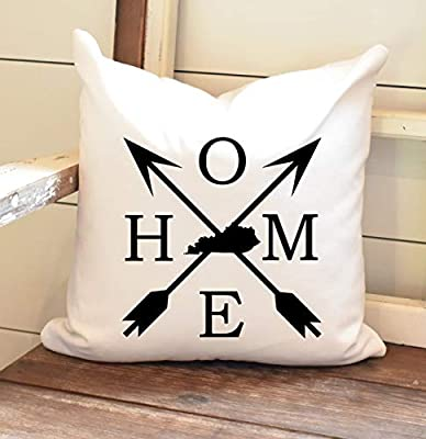 Blafitance Home Pillow Cover Kentucky Farmhouse Decor Autumn Decor Farmhouse Throw Pillow Cover Thanksgiving Decor Autumn Harvest