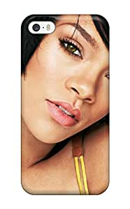 For Iphone 5/5s Tpu Phone Case Cover(rihanna )