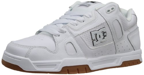 Dc Hombres Stag Sneaker Blanco / Negro / Goma