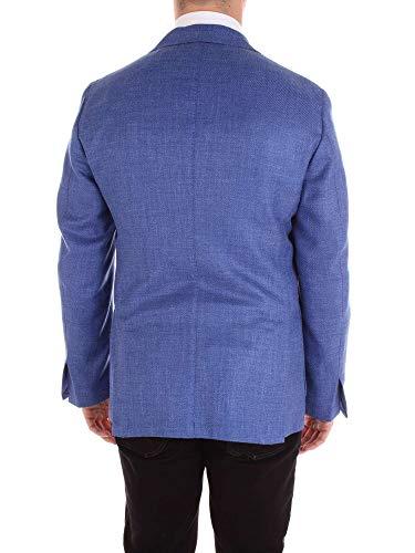 Bleu Blazer Gabo Napoli Laine Homme T15101blue Uwtqa
