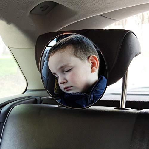 Justdodo Car Interior Rearview Mirror Auto Safety Easy View Back Seat Adjustable Mirror Baby Facing Rear View Acrylic Car Accessories