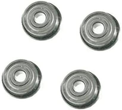 "4 Lawn Mower Soft Steel Slow Speed Flanged Ball Bearing 1-1//8/"" OD x 1//2/"" ID"
