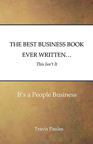BEST BUSINESS BOOK EVER WRITTEN
