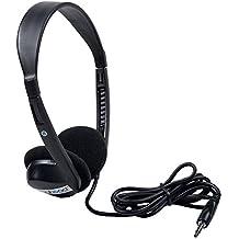 Egghead EGG-IAG-1000-SO Stereo School Headphones, Black