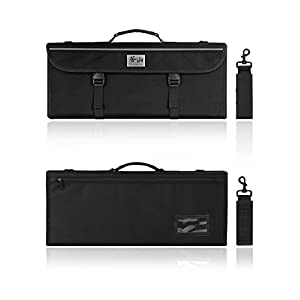 Swedish Steel | Top Cut P2 Series 1020120 Sandvik 12C27 Swedish Steel 9-Piece Knife Bag Set