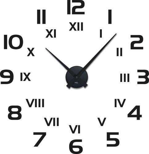 Armbanduhr römische zahlen  Amazon.de: Graz Design 800260_BK_070 Wandtattoo Uhr mit Uhrwerk ...