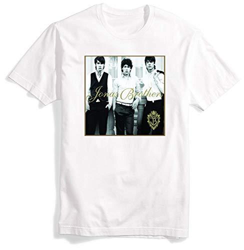 (The Jonas Brothers Shirt for Men Tshirt O-Neck T-Shirt Mens T Shirts Decor 2019)