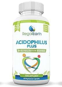 Los probióticos enzimas digestivas de alta resistencia Cápsulas Acidophilus Polvo - mejores suplementos para el SII para hombres y mujeres - funciona ...