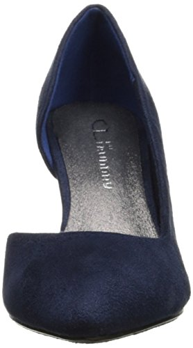 Cl De Chinese Laundry Mujeres Angelina Pump Indigo Super Suede